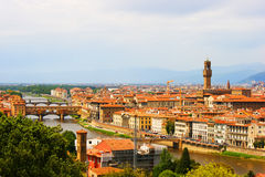 Italy Florence. General views of the city Stock Photo