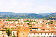Italy Florence. General views of the city Royalty Free Stock Photos