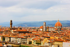Italy Florence. General views of the city Stock Images