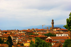 Italy Florence. General views of the city Royalty Free Stock Photo