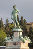 Italy. Florence. Italy.David at Piazzale Michelangelo Royalty Free Stock Photo