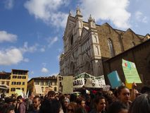 Italy, Florence,15 march 2019, Fridays for future, Save the planet