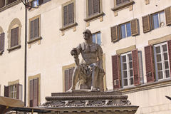 Italy. Florence. The monument to the founder of the Medici Royalty Free Stock Photos