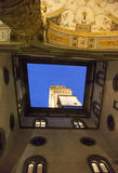 Italy, Florence, the Old Palace, the tower. Stock Photography