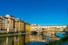 Italy, Florence, Ponte Vecchio stock images