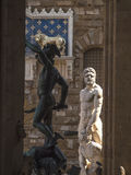 Italy,Florence, Signoria square,statue. Royalty Free Stock Photography