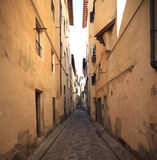 Italy,Florence. Florence, the street in city center Royalty Free Stock Image