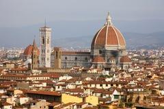 Italy, Florence, Tuscany,. Church, view Stock Photos