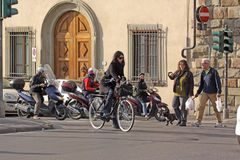 Italy. Florence. Veiw of streets Stock Image