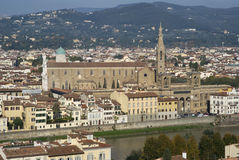 Italy, Florence, View of the city Royalty Free Stock Photos
