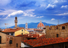 Italy. Florence. View of the city Royalty Free Stock Photography