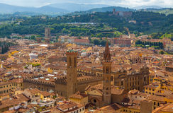 Italy. Florence. Italy. Florence - view from the city.The Uffizi Gallery Stock Images