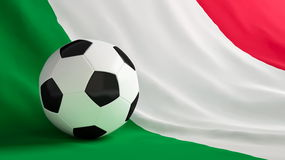 Italy football Royalty Free Stock Photos