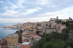 Italy - gaeta - historical city and harbour Stock Photo