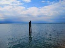 Italy Gardasee lake of garda lake mountain. Panorama Royalty Free Stock Photography