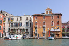 Italy. Grand canal. Venice Building Landscape Picture Royalty Free Stock Images