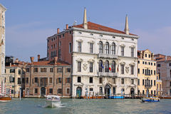 Italy. Grand canal. Venice Building Landscape Picture Royalty Free Stock Photo