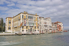 Italy. Grand canal. Venice Building Landscape Picture Stock Image