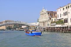 Italy. Grand canal. Venice Buildings. Boats Royalty Free Stock Photos