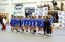 Italy handball Royalty Free Stock Photography