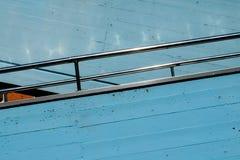 Italy, a handrail Stock Image