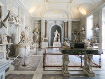 Italy historical buildings and sculpture Stock Images