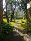Italy house garden stock image
