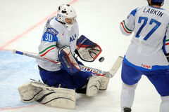 Italy ice hockey team Stock Image