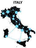 Italy infographic Royalty Free Stock Image