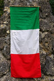 Italy: Italian flag is named 'Tricolore' Stock Photography