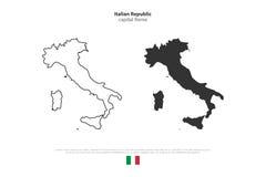 Italy royalty free illustration