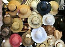 italy kapeluszowy sklep Zdjęcie Royalty Free