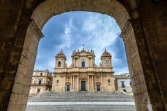 italy katedralny noto Sicily Zdjęcia Stock
