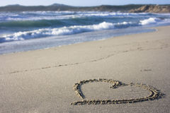 italy kierowy piasek Sardinia Fotografia Royalty Free