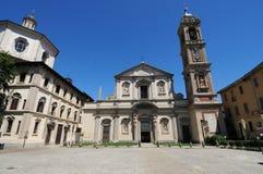 italy kościelny santo Milan Stefano Obraz Royalty Free