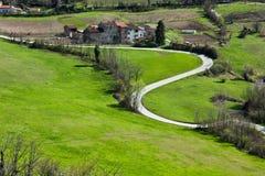 italy krajobrazowy Piedmont Obrazy Royalty Free