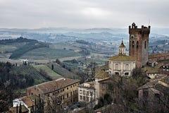 italy krajobrazowy Tuscan Obrazy Stock