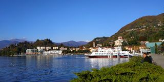 italy lago maggiore zdjęcia royalty free