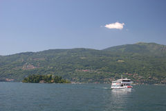 italy lago maggiore statek Fotografia Stock