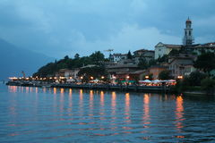 Italy. Lake Garda. Limone sul Garda town. Stock Photos