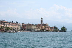 Italy. Lake Garda. Salo town Stock Images