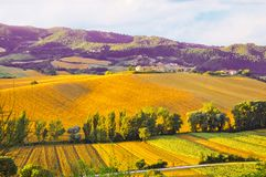 Beautiful landscape of Umbrie little Toscana, Italy