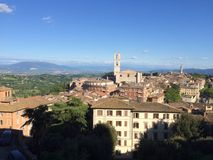 Italy. Landscape Perugia village city Stock Photography