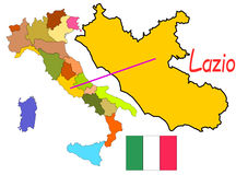 Italy, Lazio Royalty Free Stock Photos