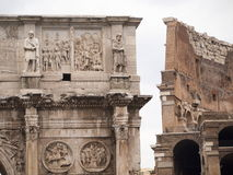 Italy,Lazio,Rome. Italy,Rome, the Costantino arch in marble Royalty Free Stock Image