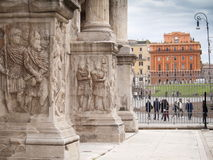 Italy,Lazio,Rome. Italy,Rome, the Costantino arch in marble Royalty Free Stock Images