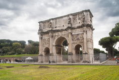 Italy,Lazio,Rome. Italy,Rome, the Costantino arch in marble Stock Images