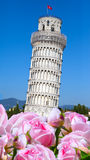 Italy.The Leaning Tower of Pisa Royalty Free Stock Photo