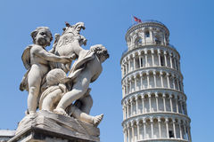 Italy leaning Tower Pisa Stock Photography