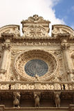 Italy Lecce Santa Croce Church Royalty Free Stock Images